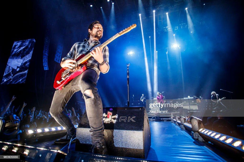 Dani Martin Performs in Concert in Barcelona
