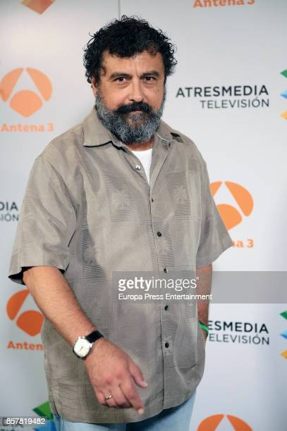 Paco Tous attends the presentation of the tv serie 'La Casa de papel' on October 4 2017 in Madrid Spain