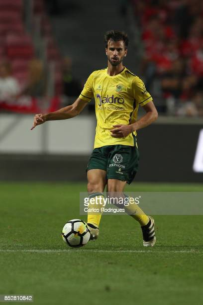 Pacos de Ferreira defender Rui Correia from Portugal during the match between SL Benfica and FC Paco de Ferreira for the round seven of the...