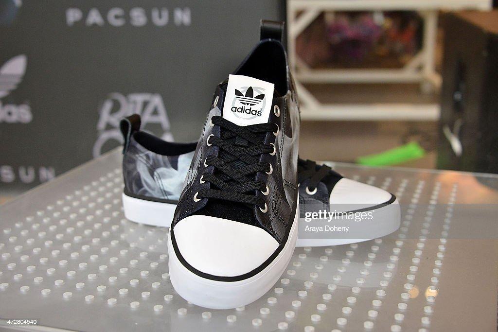 pacsun e rita ora per festeggiare il suo nuovo adidas originali raccolta