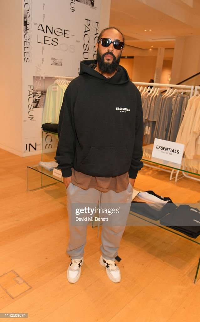 PacSun x Fear Of God Essentials With Jerry Lorenzo : News Photo