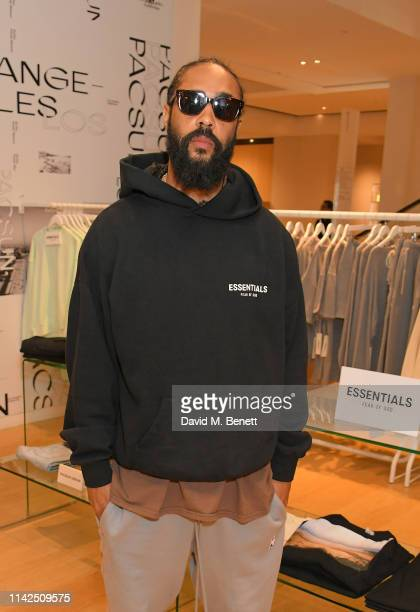 PacSun x Essentials Fear of God with Jerry Lorenzo at Selfridges on May 10 2019 in London England