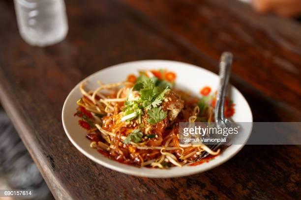 Pad Thai, rice noodle dish