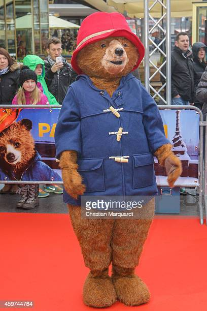 'Paddington' attends the German premiere of the film 'Paddington' at Zoo Palast on November 30 2014 in Berlin Germany