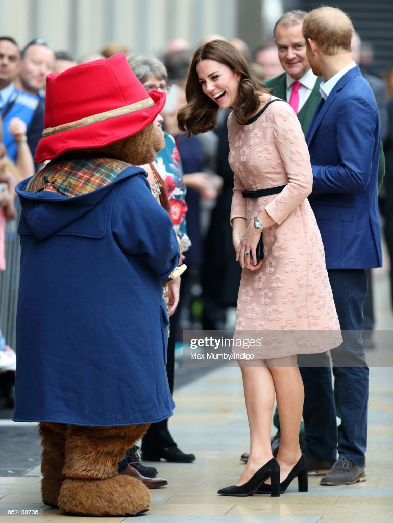The Duke & Duchess Of Cambridge And Prince Harry Attend The Charities Forum Event : News Photo