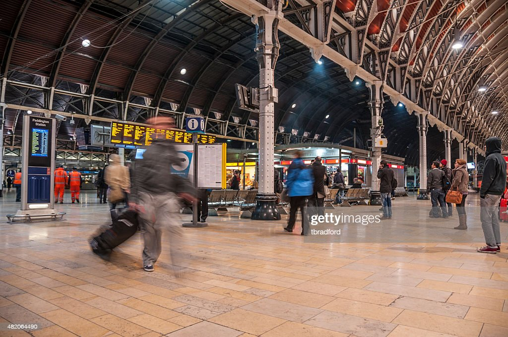 Paddington Railway Station : Stock Photo