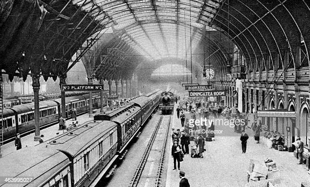 Paddington Station London 19261927 From Wonderful London volume II edited by Arthur St John Adcock published by Amalgamated Press