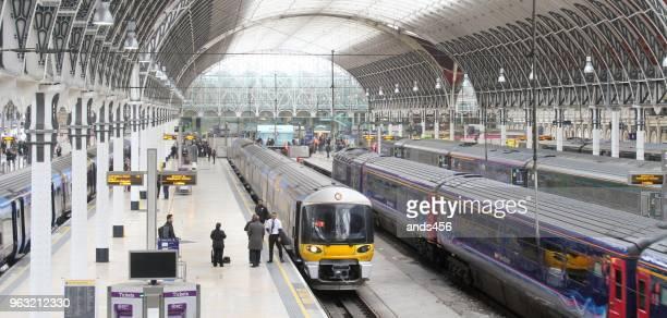 Der Bahnhof Paddington, London, UK