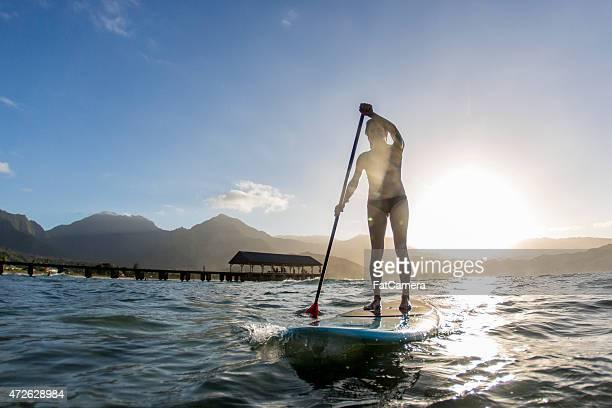 パドルボートで楽しむハワイ