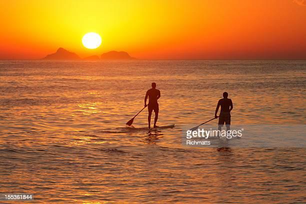 Paddle surf à Rio de Janeiro