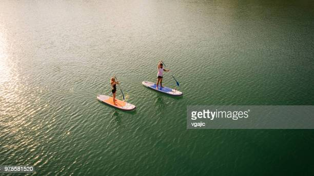 paddleboarding - paddleboard stock pictures, royalty-free photos & images