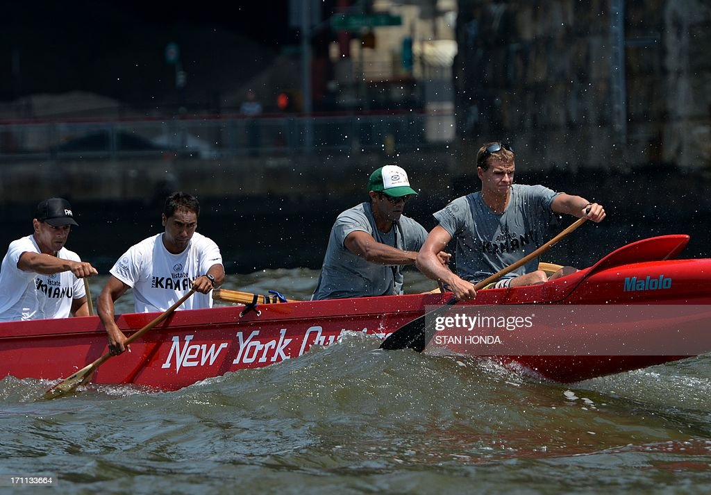 CANOEING-US-OUTRIGGER-CANOES-RACE : News Photo