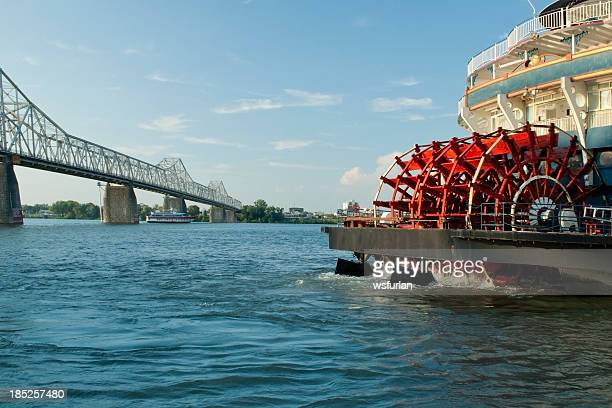 paddlewheel - mississippi river stock pictures, royalty-free photos & images