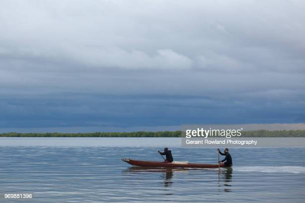 Paddling down the River Ziguinchor