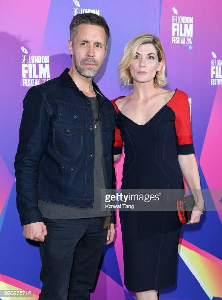 Paddy Considine and Jodie Whittaker attend a screening 'Journeyman' during the 61st BFI London Film Festival at the Picturehouse Central on October...
