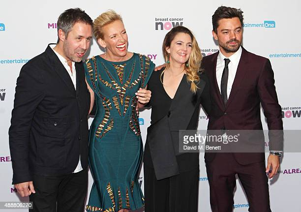 Paddy Considine Toni Collette Drew Barrymore and Dominic Cooper attend the European Premiere of 'Miss You Already' at Vue West End on September 17...