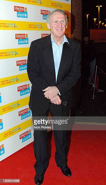 Paddy Crerand during United for UNICEF Gala Dinner Arrivals at Old Trafford Manchester United Football Club in Manchester Great Britain