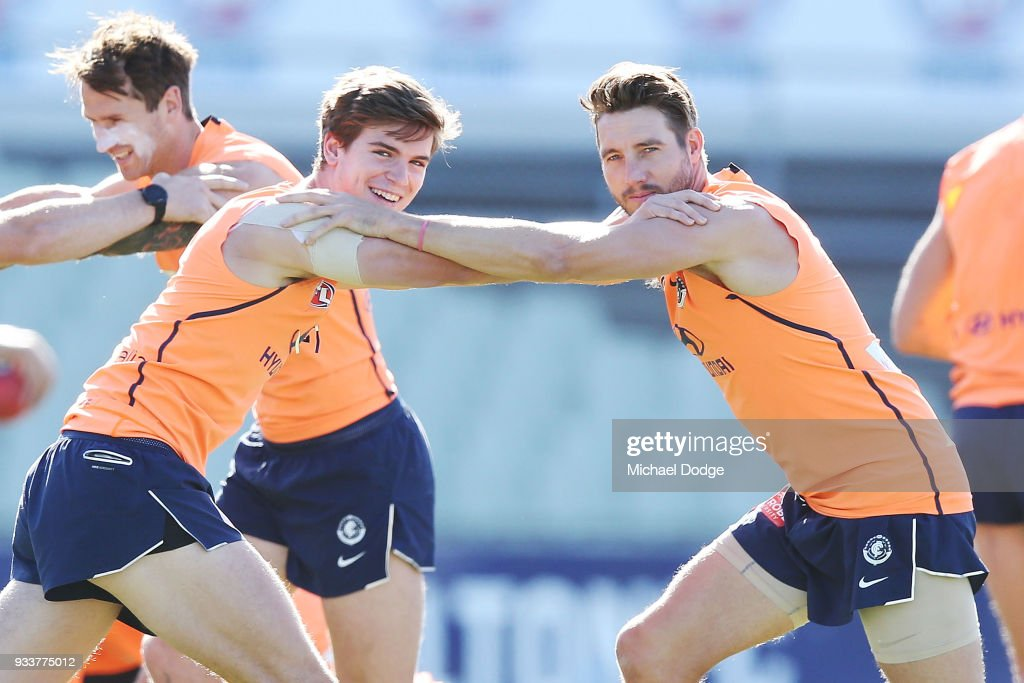 Carlton Blues Training Session