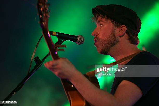 Paddy Hanna performs at CastlePalooza festival at Charville Castle on July 3 2016 in Tullamore Ireland