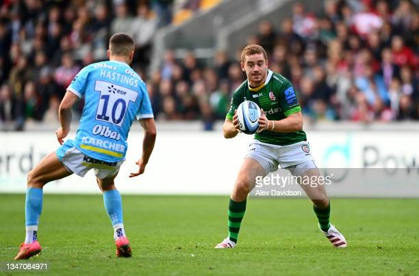 Paddy Jackson of London Irish in action during the Gallagher Premiership Rugby match between London Irish and Gloucester Rugby at Brentford Community...