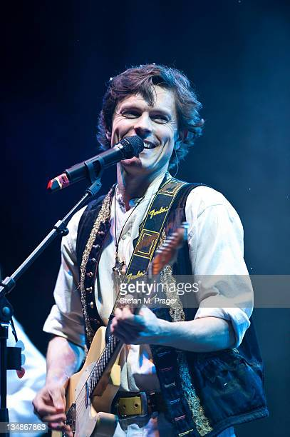 Paddy Kelly of Kelly Family performs on stage at Kleine Olympiahalle on December 4 2011 in Munich Germany