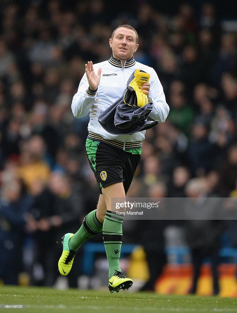 Paddy Kenny of Leeds United during the Sky Bet Championship match between Leeds United and Leicester City at Elland Road on January 18, 2013 in Leeds, England,