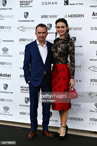 Paddy Lowe, Mercedes Technical Executive Director arrives at the Amber Lounge fashion show during previews to the Monaco Formula One Grand Prix at...