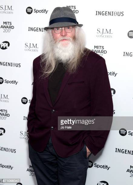 Paddy McAloon attending the 26th annual Music Industry Trust Awards held at The Grosvenor House Hotel on November 6 2017 in London England