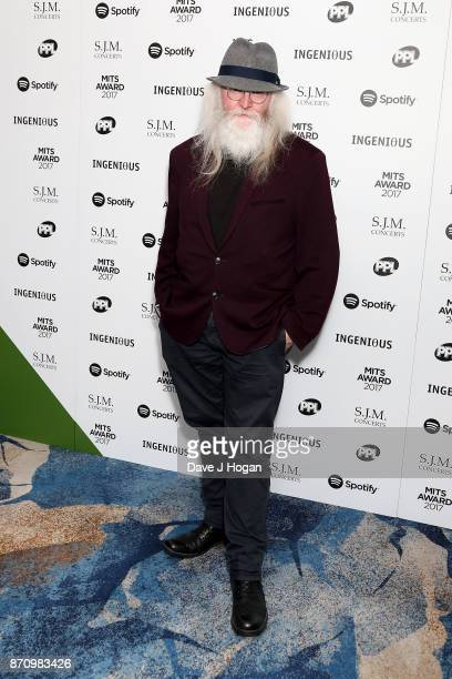Paddy McAloon attends the 26th annual Music Industry Trust Awards held at The Grosvenor House Hotel on November 6 2017 in London England