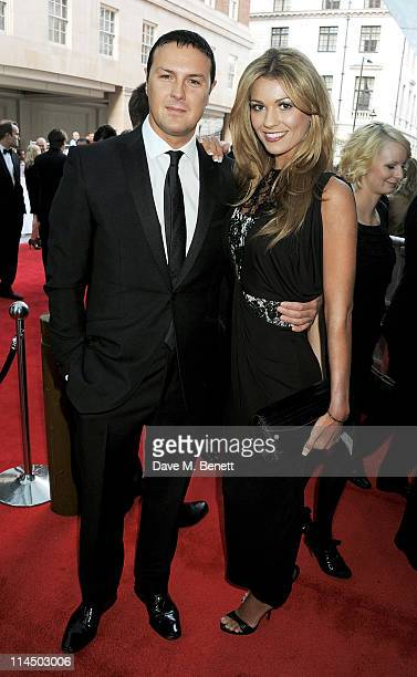 Paddy McGuinness and Christine Martin arrive at the Philips British Academy Television Awards held at The Grosvenor House Hotel on May 22 2011 in...