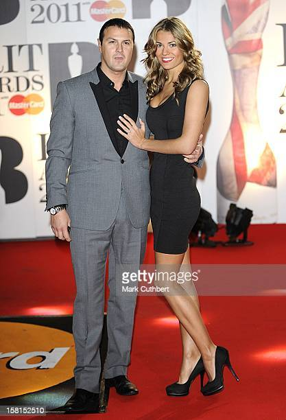 Paddy Mcguinness And Christine Martin Arriving For The 2011 Brit Awards At The O2 Arena London