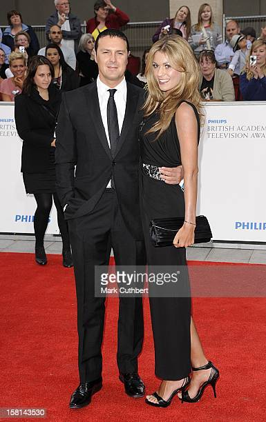 Paddy Mcguinness And Christine Martin Arriving For The Philips British Academy Television Awards At The Grosvenor House 90 Park Lane London