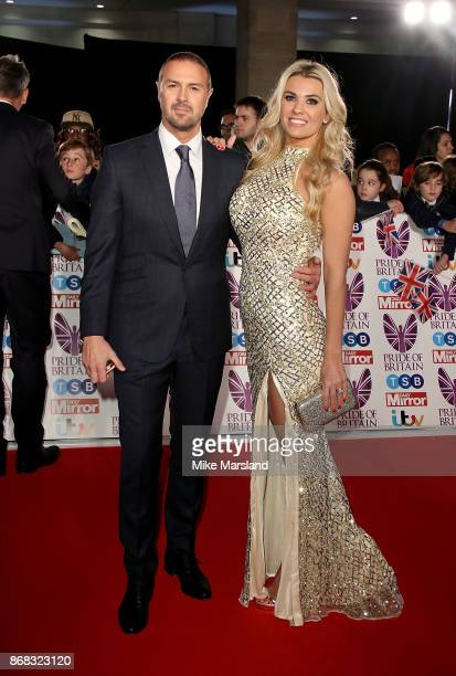 Paddy McGuinness and Christine Martin attend the Pride Of Britain Awards at Grosvenor House on October 30 2017 in London England