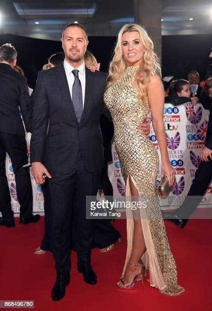 Paddy McGuinness and Christine Martin attend the Pride Of Britain Awards at the Grosvenor House on October 30 2017 in London England