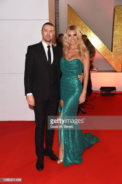 Paddy McGuinness and Christine McGuinness attend the National Television Awards held at The O2 Arena on January 22 2019 in London England