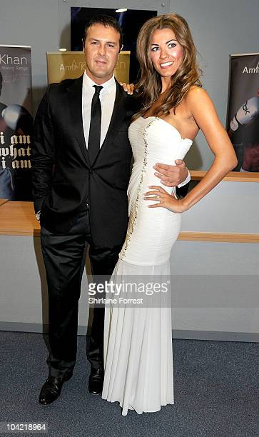 Paddy McGuinness and fiancée Christine Martin attend 'An Evening Of Sport' at De Vere Whites Hotel on September 17 2010 in Bolton England