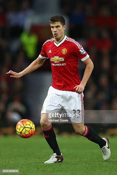 Paddy McNair of Manchester United during the Barclays Premier League match between Manchester United and West Ham United at Old Trafford on December...