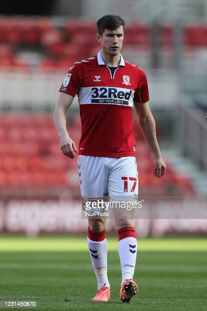 Paddy McNair of Middlesbrough during the Sky Bet Championship match between Middlesbrough and Cardiff City at the Riverside Stadium, Middlesbrough on...