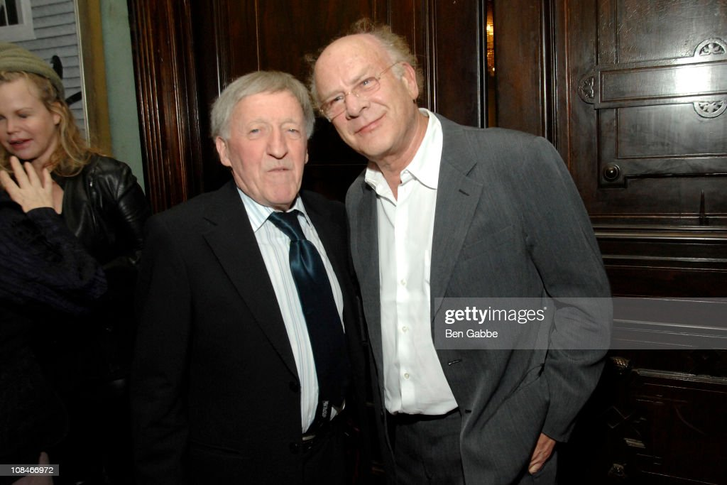 Paddy Moloney and Art Garfunkel attend the Gold Medal of Honor for Lifetime Achievement in Music at The National Arts Club on January 27, 2011 in New York City.