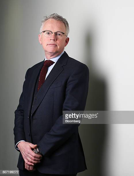 Paddy Rodgers chief executive officer of Euronav NV poses for a photograph following a Bloomberg Television interview in London UK on Thursday Jan 28...