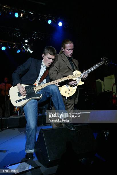 Paddy Und Joey Von Der Kelly Family Beim Gala Abend 'Dvd Night' Im Arabella Sheraton In München Am 301003