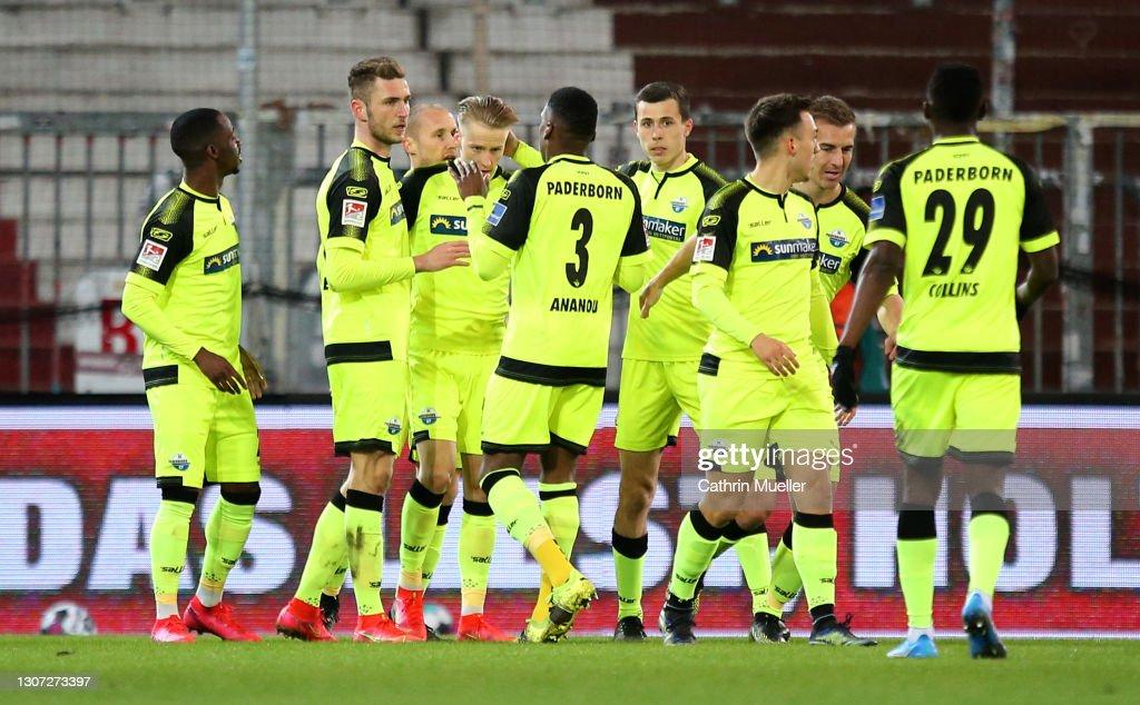 FC St. Pauli v SC Paderborn 07 - Second Bundesliga : News Photo