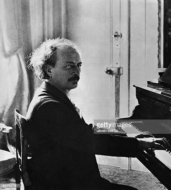 112点のピアニスト イグナツィ・ヤン・パデレフスキのストックフォト ...