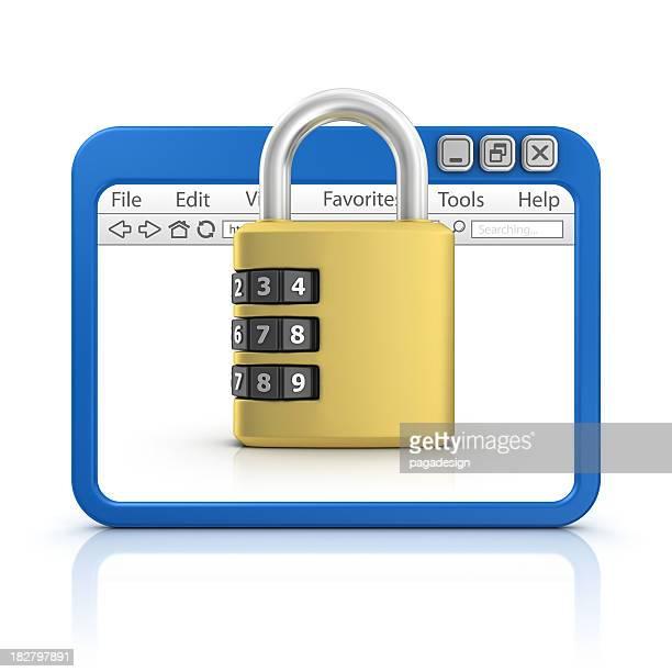 padlock in browser
