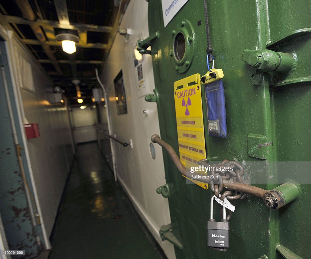 A padlocked door guards entry to the nuclear reactor of the N.S. Savannah. The only & A padlocked door guards entry to the nuclear reactor of the N.S ...
