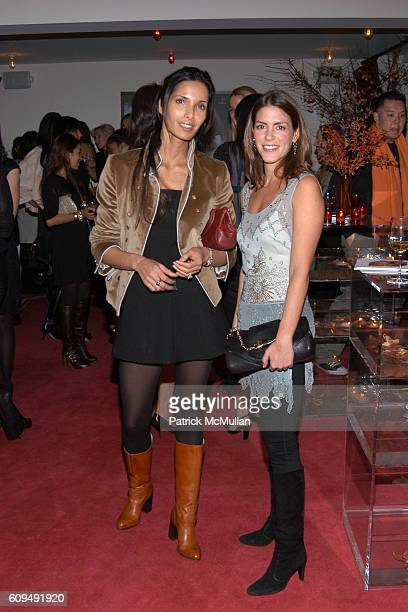Padma Lakshmi and Jacqueline Sackler attend Monica Botkier and Olivia Chantecaille Host A Dinner to Celebrate Spring at Gramercy Park Hotel on...