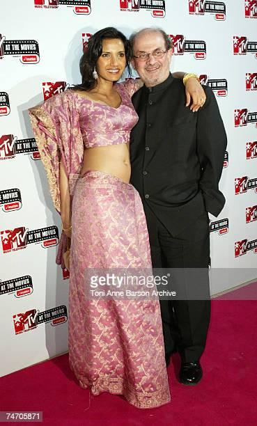 Padma Lakshmi and Salman Rushdie in