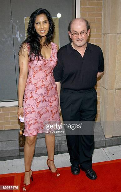 Padma Lakshmi and Salman Rushdie