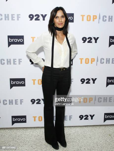 Padma Lakshmi and The Judges of Bravo's 'Top Chef' In conversation at 92nd Street Y on November 28 2017 in New York City