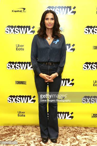 Padma Lakshmi at Featured Session Making Change On and Off the Screen during the 2019 SXSW Conference and Festivals at Hilton Austin on March 9 2019...